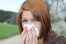 Free Flu Season Royalty Free Stock Photos - 19253008