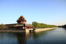 Free The Corner Tower Of The Forbidden City Stock Photo - 19253350