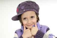 Free Child Showing Ok Sign Royalty Free Stock Image - 19253546