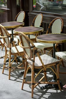 Free Parisian Terrace Stock Photo - 19253750