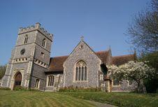 English Church Royalty Free Stock Photo