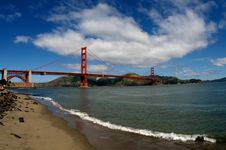 Free Golden Gate Bridge Stock Images - 19254064