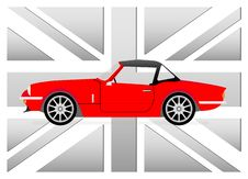 Free Little Red Cabrio Royalty Free Stock Image - 19255376