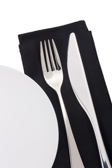 Free Knife And Fork Royalty Free Stock Photos - 19255688