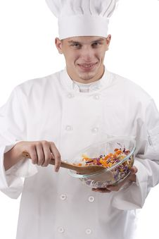 Free Chef In Uniform Stock Photography - 19255842