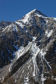Free Big Mountain Peak Stock Image - 19258551
