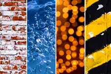 Free Collection Of Diverse Textures For Your Background Royalty Free Stock Photography - 19258667