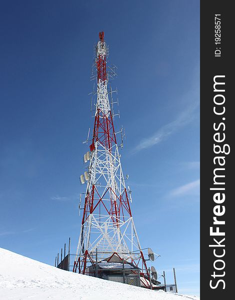 Meteorological Weather Station and Antenna