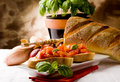 Free Bruschetta With Ingredients Stock Image - 19261151