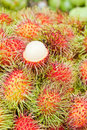 Free Tropical Fruit,white Pulp Rambutan Royalty Free Stock Photography - 19261447
