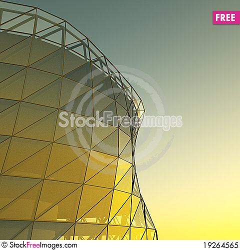 Free Abstract Architecture Wall Royalty Free Stock Photo - 19264565