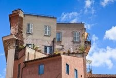 Free Residential Building In Rome, Italy. Stock Photos - 19260353