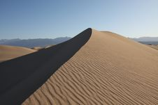 Free Sand Dune On The Morning Royalty Free Stock Photos - 19260618