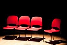 Free Red Chairs Stock Images - 19261364