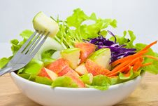 Free Apple Salad Royalty Free Stock Image - 19261806