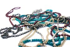 Necklaces Stock Photo