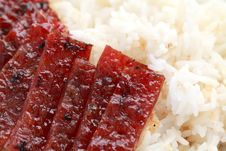 Free Barbecue Meat Rice Stock Photo - 19262190