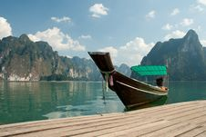 Free Long Tailed Boat In Thailand Royalty Free Stock Images - 19263489