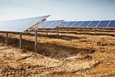 Solar Panel Plant Stock Photos