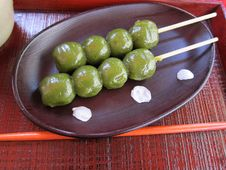 Free Traditional Japanese Dango Dessert Royalty Free Stock Photography - 19264147