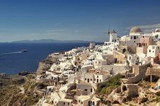 Free Santorini, Greece. Royalty Free Stock Photos - 19265448