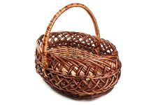 Free Wicker Basket Stock Photo - 19265530