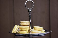 Free Yellow Macarons Stock Images - 19265594