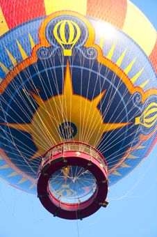 Free Hot Air Balloon 1 Royalty Free Stock Photography - 19267557
