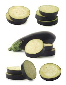 Free Eggplants Royalty Free Stock Photos - 19267978