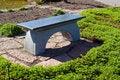 Free Beautiful Garden Stone Granite Seating Corner Stock Photography - 19270842