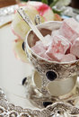 Free Easten Sweets In Silver Ware Royalty Free Stock Photo - 19272265