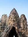 Free Giant Smiling Face At Angkor Wat Royalty Free Stock Photography - 19272677