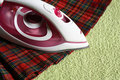 Free Electric Iron And Kilt Royalty Free Stock Images - 19273109