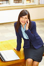 Free Business Woman Talking On Phone Royalty Free Stock Image - 19275086