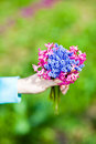 Free Holding Flowers Stock Photos - 19276853