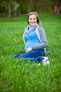 Free Pregnant Woman Outdoor Stock Photography - 19277582