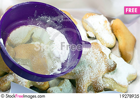 Free Prepare Of Cookies Royalty Free Stock Photo - 19278935