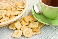 Free Biscuits Royalty Free Stock Photos - 19270188