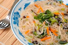Free Oriental Style Vermicelli Royalty Free Stock Image - 19270306