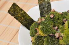 Green Broccoli Dish Stock Photos