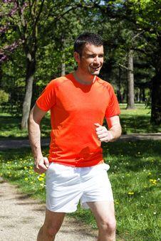 Free Running Man Stock Photography - 19270482