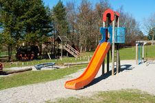 Modern Design Colorful Attractive Playground Royalty Free Stock Images