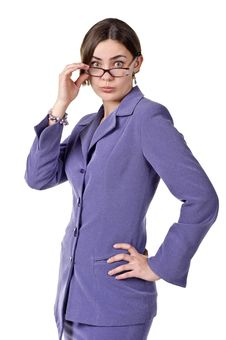 Free Businesswoman Looking At The Camera Royalty Free Stock Photography - 19270777