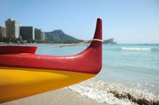 Free Waikiki Beach Royalty Free Stock Photography - 19270917