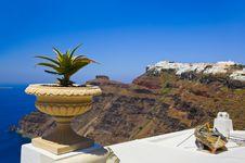 Free Santorini View - Greece Royalty Free Stock Photo - 19270945