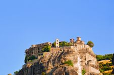 Free Meteora Monastery In Greece Stock Images - 19270954