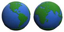 Free Stylized Globe. Royalty Free Stock Images - 19270989