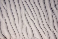 Free Sand Waves Background Royalty Free Stock Photography - 19271707