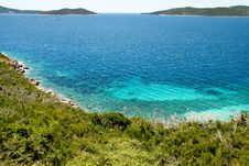 Free Sea ​​in Croatia Royalty Free Stock Photography - 19272757