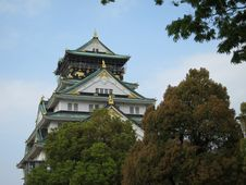 Free Ancient Osaka Castle Stock Photography - 19274452